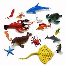 15 ocean Игрушечная модель животного: Морская звезда морская