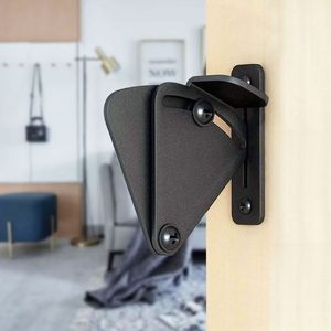 Sliding Barn Door Latch Lock Work for Pocket Doors Garage and Shed Wood Gates(China)