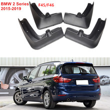 Mud-Flaps  Rear& Front Mudguards Splash Guards Mudflaps Car Fenders Fit For  BMW 2 Series 2015-2019  Active Gran Toure  F45 F46 цена в Москве и Питере