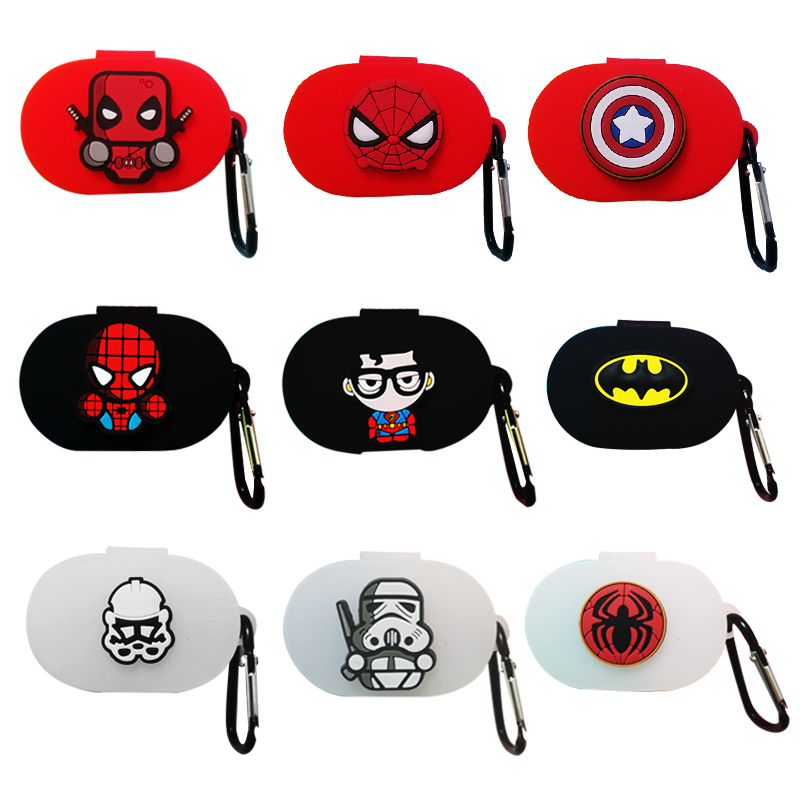 The Avengers Earphone Cover For Redmi Airdots Case Cute Case For Xiaomi Airdots Cases For Mi Air Dots With Keychain