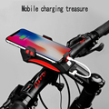 Водонепроницаемая велосипедная фара мобильный телефон держатель USB зарядка горный велосипед карбелл многофункциональный мобильный телеф...