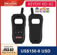 2020 OBD2 مفتاح مبرمج أداة KEYDIY KD X2 مفتاح السيارة باب المرآب البعيد kd x2 عام/رقاقة قارئ/تردد مع شحن مجاني