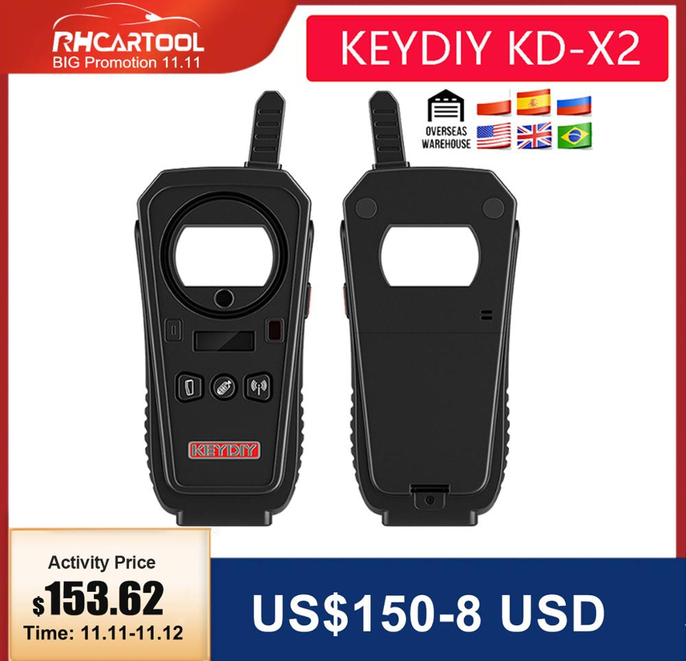 2020 OBD2 Key Programmer tool KEYDIY KD-X2 Car Key Garage Door Remote kd x2 Generater Chip Reader Frequency with free shipping