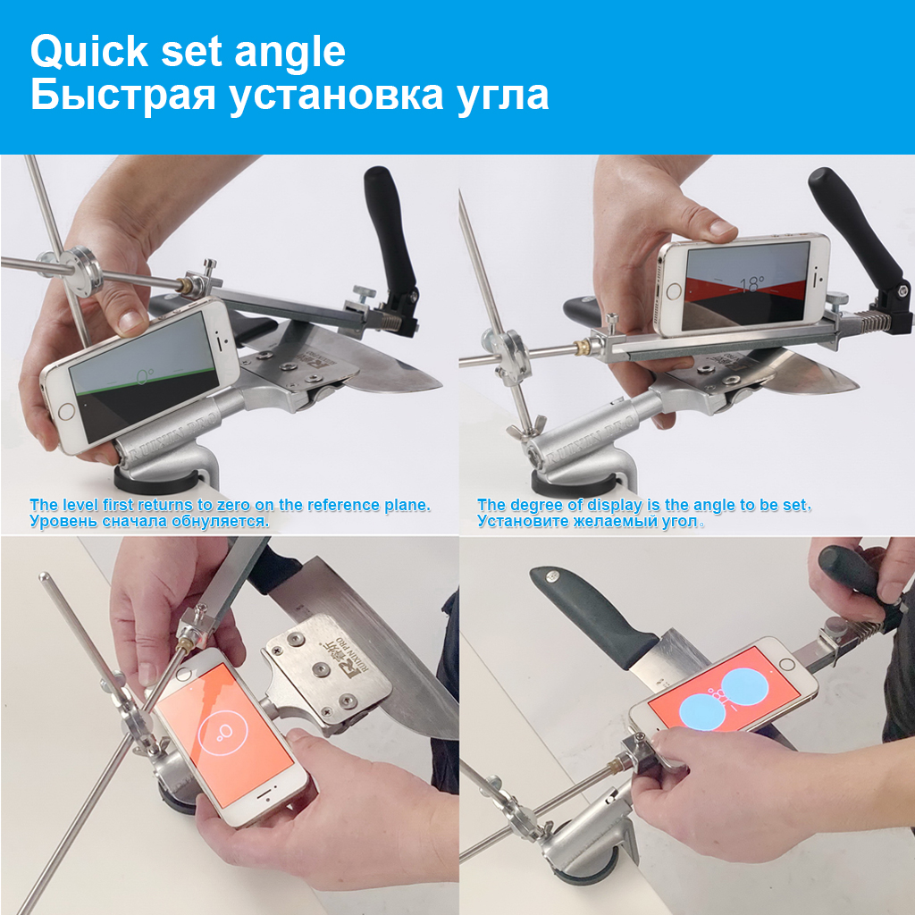 Details about  /Sharpener Aluminum Alloy System Ruixin Pro Diamond New Update 2021