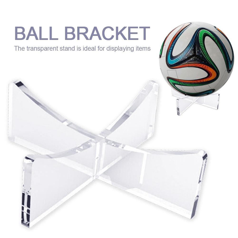 Acrylic Multi-function Display Stand Bowling Rugby Basketball Soccer Ball Bracket Holder Transparent Rack Support Base