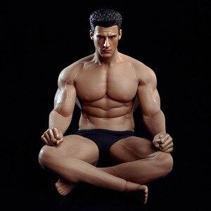 """Image 5 - 1/12 Schaal TM01A TM02A Flexibele Man Gespierde Man En Sexy Vrouwelijke Volledige Set Body Met Hoofd Carving Voor 6 """"action Figure Body Speelgoed"""