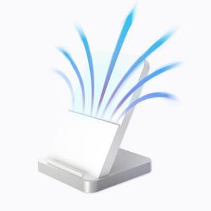 Image 5 - Original Xiaomi Vertikale luftgekühlte Drahtlose Ladegerät 30W Max 55W 19V gelten für Xiao mi 9 pro mi 9 mix 2s MIX 3 qi EPP10W LADE