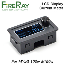 Co2-Current-Meter Laser-Power-Supply Fireray MYJG100W for 150W Lcd-Display Lcd-Display