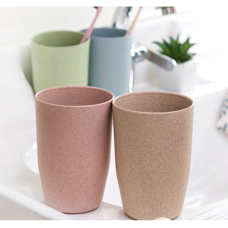 Wheat Straw Mouth Cup Simple Couple Brushing Cup Creative Toothbrush Cup Washing Cup