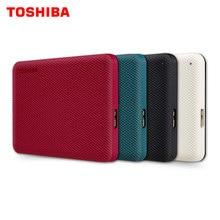TOSHIBA-disco duro externo Canvio ADVANCE de 2,5 pulgadas, dispositivo portátil de almacenamiento para ordenador portátil, de escritorio, USB 3,0, HD V10, 1TB/2TB/4TB