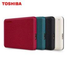 TOSHIBA-disco duro externo Canvio ADVANCE, dispositivo de almacenamiento de 2,5 pulgadas, 1TB/2TB/4TB, portátil, USB 3,0, HDD, para ordenador portátil de escritorio, HD V10