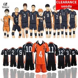 ROLECOS Haikyuu Cosplay Kostüm Karasuno Gymnasium Volleyball Club Hinata Shyouyou Sportswear Trikots Uniform