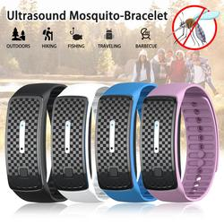 Ultrasound Mosquito Repellent Bracelet Anti Insect Wrist Band Bug Repeller Child