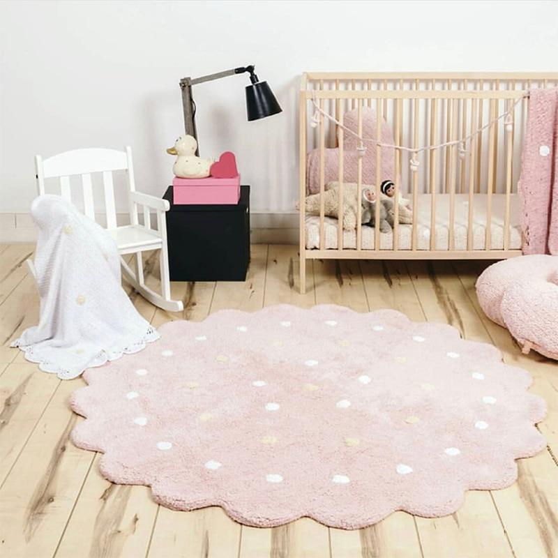 Dots Play Mat Tapis Enfant Baby Gym Activity Games Carpet Rug Children Kids Floor Carpets for Kindergarden Baby Room decoration