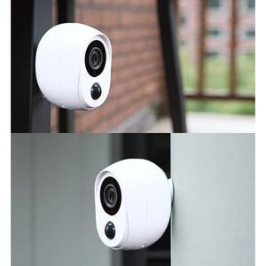 Image 3 - Wdskivi 100% Draht Freies Batterie Ip kamera Outdoor Wireless Wetter Sicherheit WiFi Kamera CCTV Überwachung Smart Alarm