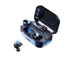 G02 TWS 5.0 Bluetooth 9D Stereo Earphone Wireless Earphones IPX7 Waterproof 3300mAh Charging Box With And Power Displa