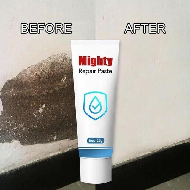Wall Mending Agent Wall Repair Cream Wall Crack Nail Repair Agent Walls Peeling Graffiti Gap Mighty Universal Repair Paste 120g 1