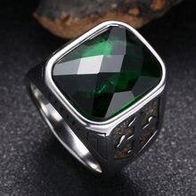 Высококачественное серебряное кольцо из нержавеющей стали aaa