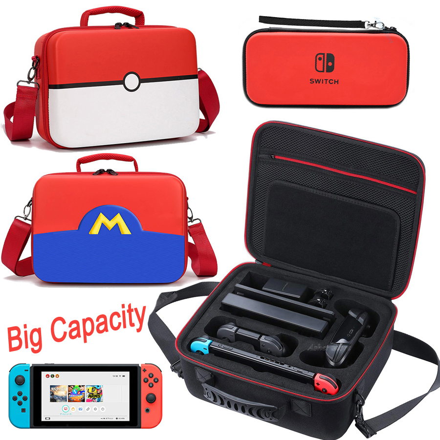 Nintend Switch Storage Bag Colorful Protective Carrying Portable Case for Nintendo Switch Nintendoswitch NS Game Accessories(China)
