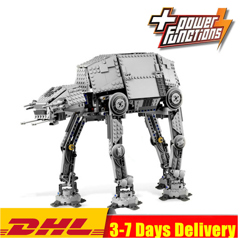 DHL  Star 1137pcs Series Wars AT-AT The Robot Electric Remote Control  Building Blocks Toys Compatible  05050 75054
