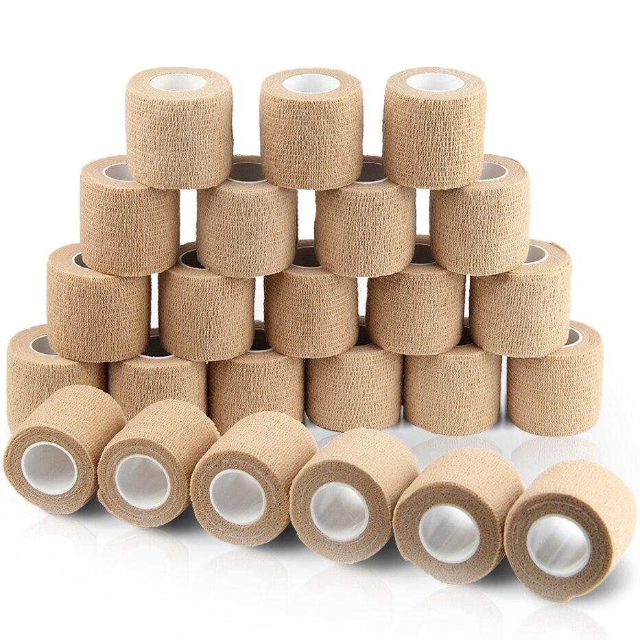 24 rolls Selbst Adhesive Bandage Wrap Cohesive Bandage Sport Band Tierarzt Wrap