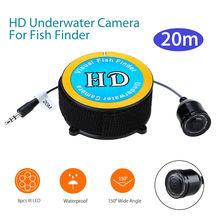Подводная камера 20 м Водонепроницаемая с 8 шт ИК светодиодный аксессуар лодка для рыболокатора