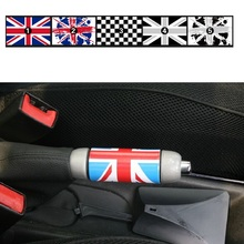 1 шт. Юнион Джек Авто ручной тормоз DIY Наклейка для Mini Cooper One JCW S Clubman земляк автомобиль-Стайлинг Аксессуары BP