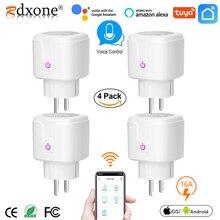 WIFI smart plug 16A EU WiFi Socket  With Timing APP Control,Compatible Alexa Google Home Mini IFTTT Voice Intelligent Control