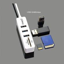 3 порта usb 20 концентратор сплиттер комбо микро разъем кабель