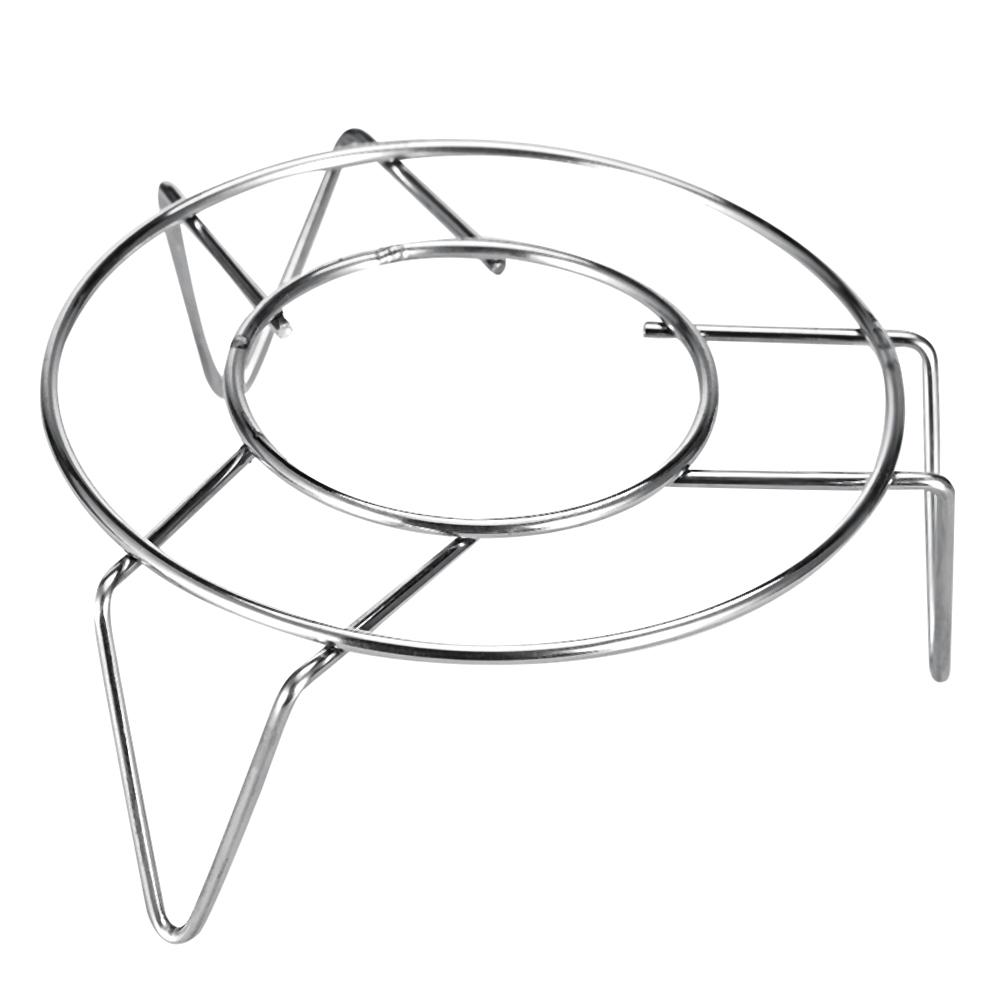 High Quality Stainless Steel Steamer Kitchen Cookware Steamer Rack Insert Stock Cooking Steaming Stand Kitchen Heating Supplies