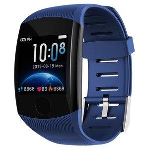 Image 4 - Reloj inteligente Q11 PK Q9, reloj inteligente deportivo con control del ritmo cardíaco y de la presión sanguínea de Larga modo de reposo para hombre y mujer