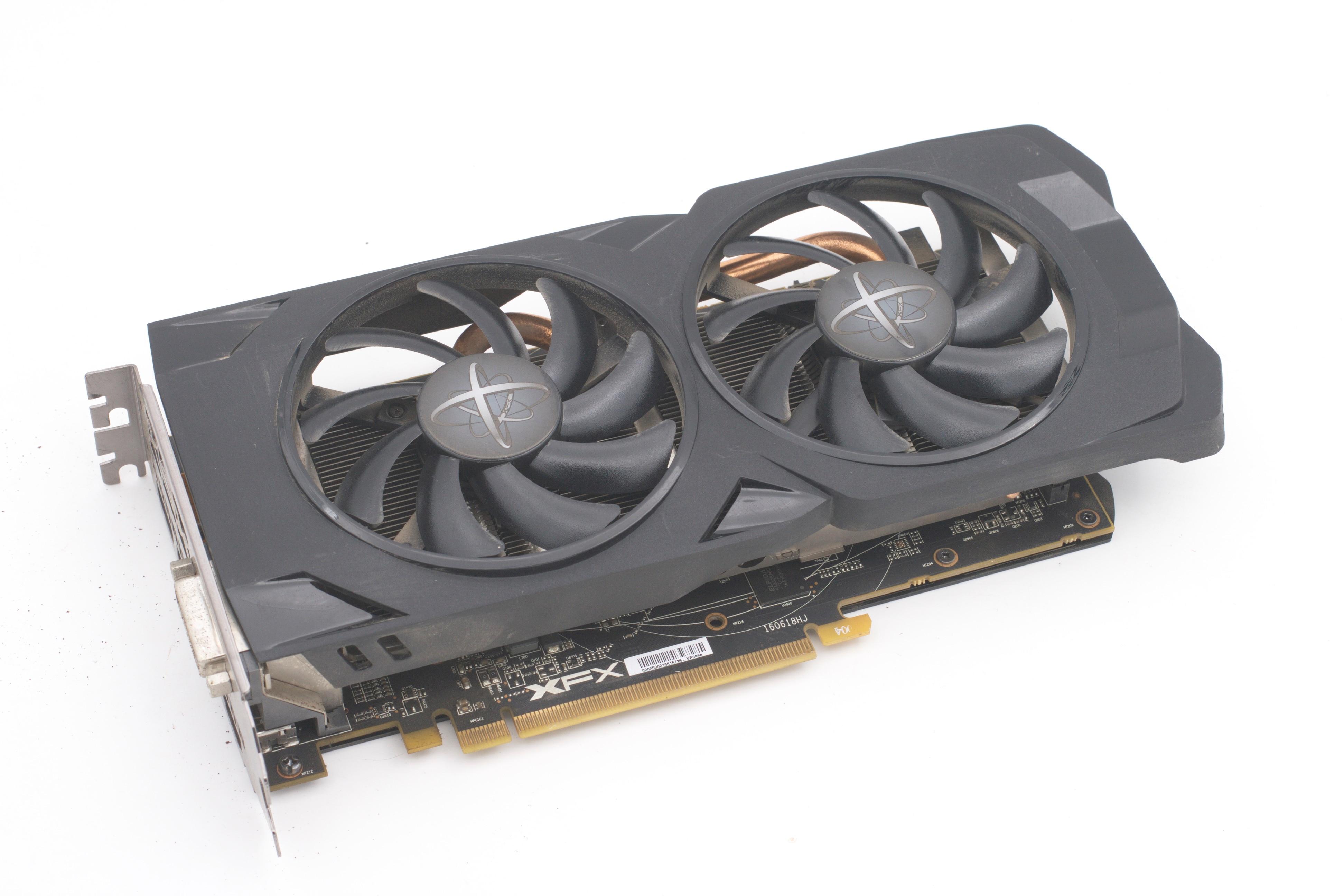 XFX AMD RX480 4G VGA Card Used