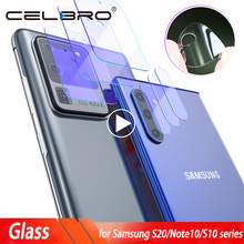 Camera Glass for Samsung Galaxy S20 Ultra S20 Plus Glass Camera Lens Protector For Sumsung S20Ultra Note 10 Plus S10 5G S20 Film