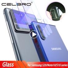กล้องสำหรับ Samsung Galaxy S20 Ultra S20 PLUS กล้องเลนส์ Protector สำหรับ Samsung S20Ultra หมายเหตุ 10 Plus S10 5G S20 ฟิล์ม