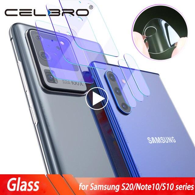 Szkło do aparatu Samsung Galaxy S20 Ultra S20 Plus szklana osłona obiektywu do Samsung S20Ultra uwaga 10 Plus S10 5G S20 Film