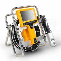 Pan tilt 600TVL 360 stopni komina kontroli kamery systemy domu i roboty zduńskie przemysłowe kontroli nagrywania wideo