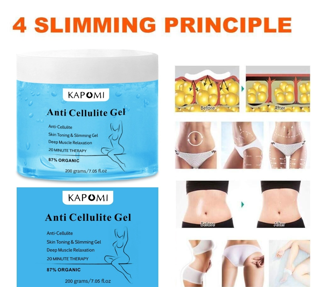 Anti Cellulite Cream Gel Hot Slimming Cream Gel Organic +Body +Firming Fat Burning +Gel Weight Loss Natural Целлюлит Лечение