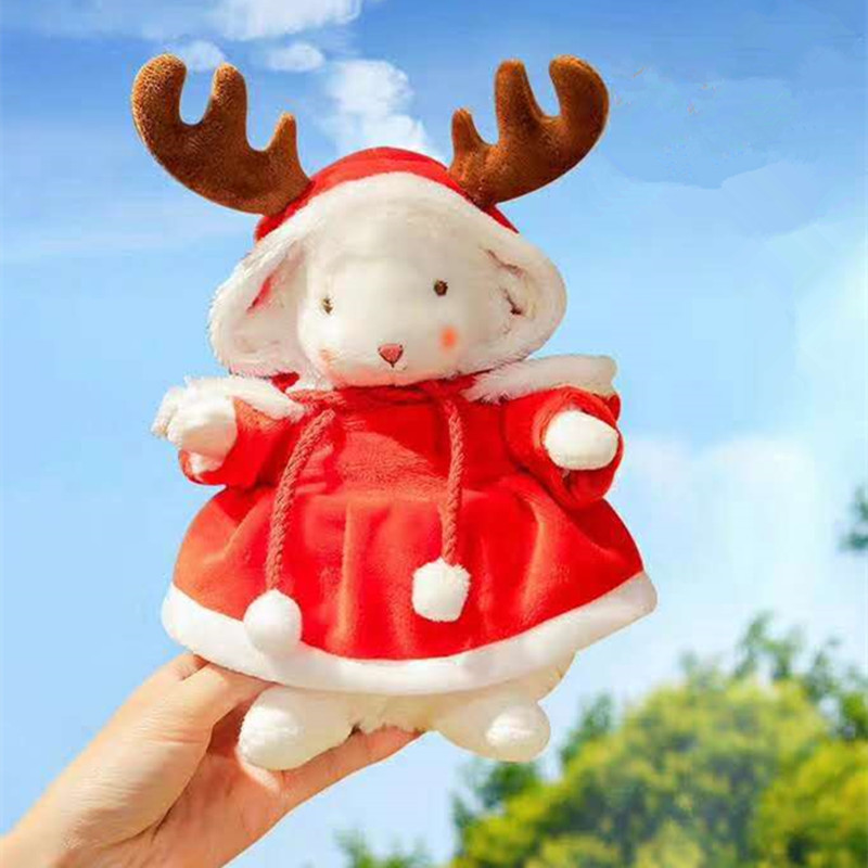 Ins Hot American Sitting Lamb Bunnies High Quality Gift Plush Toy With Box Stuffed Doll Super Cute Gift For Kids And Girlfriends