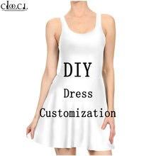 Сексуальное женское платье с 3d принтом индивидуальный дизайн