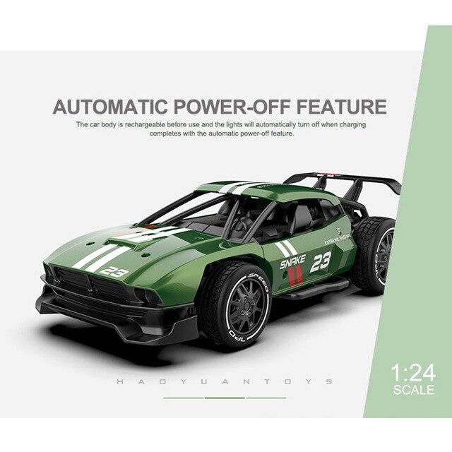 High Speed RC Metal Car 1/20 4WD RC Drift Racing Car Off Road Radio Remote Control Vehicle Electronic Toys Boy Birthday Present 3