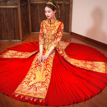 Wedding Red Chinese Vestidos