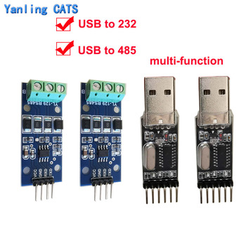 USB to RS232 485 to TTL communication Conversion module industrial RS485 converter 340 adapter supports win10 diagnostic tool mb star c3 rs232 to rs485 cable mb sd connect c3 rs232 to rs485 cable with chip and pcb