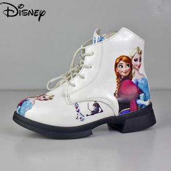 Disney Girls Girls Martin buty jesień Aisha księżniczka buty damskie buty pojedyncze buty mrożone buty dziecięce buty śniegowe tanie i dobre opinie Kobiet RUBBER CN (pochodzenie) 25-36m 3-6y 7-12y 12 + y Na wiosnę jesień