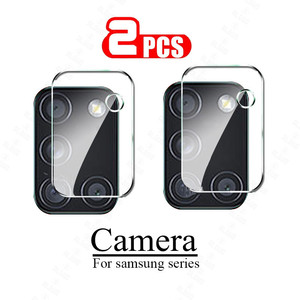 2pcs Camera Lens Glass for Samsung Galaxy A51 A71 Note 20 S20 Ultra Plus S20+ A31 A21S M31 M21 A11 A51 Screen Protector S20 Fe