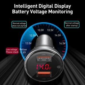 Image 3 - Baseus 45ワット急速充電4.0 usb車の充電器サムスンxiaomi 10 qc 4.0 3.0 pd 3.0高速車電話機の充電車の充電器