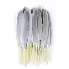 Decorative-Accessories Big-Goose-Feathers Crafts Plumes DIY Home-Decor Natural for Needlework