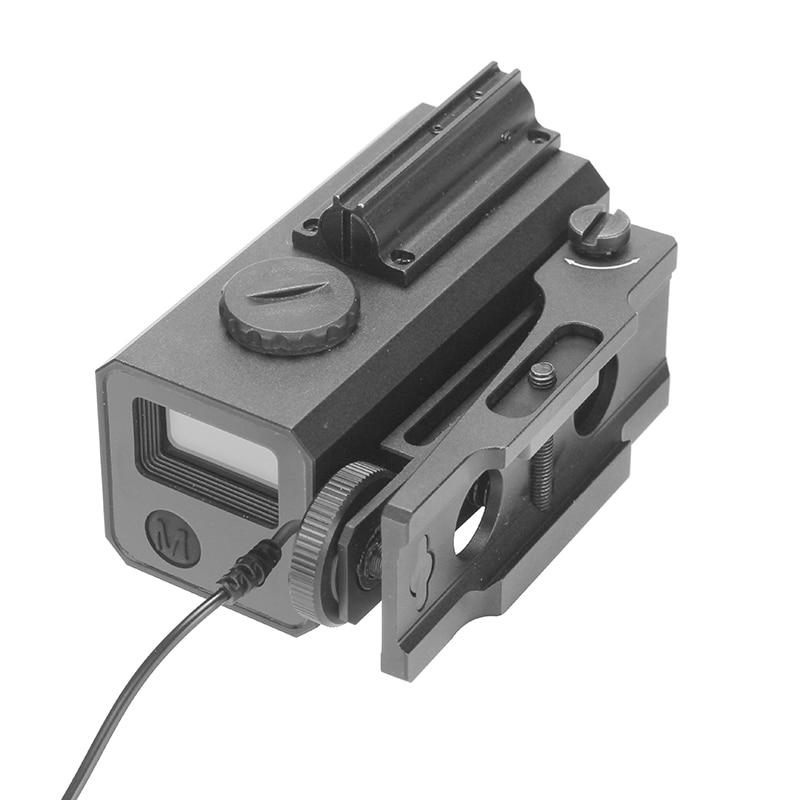 LE032 buscador de rango IP65 a prueba de agua caza al aire libre telémetro láser caza alcance montable 700M buscador de rango