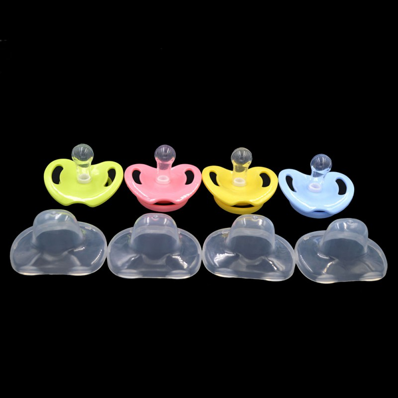 Portable Baby Pacifier Newborn Kids Boys Girl Food-grade Silicone Soother Nipple Bottle