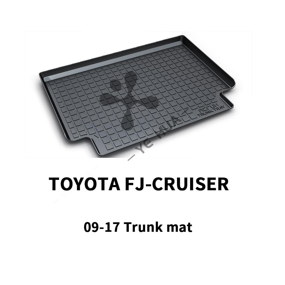 Toyota FJ Cruiser Nero Heavy Duty Cargo Floor Zerbino-All Weather Protezione del Tronco, durable HD TPO Fit Per Toyota FJ Cruiser 12-17