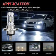 цена на OLOMM  2PCS H4 9003 HB2 Car LED Headlight 80W Fog Lights Conversion Kit LED Lamps/Light Bulbs For Cars High/Low Beam 6000K
